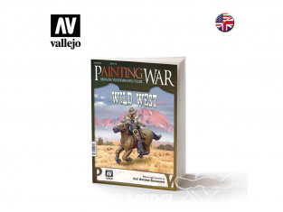 Vallejo Librairie Issue10 Painting WAR Wild West en langue Anglaise