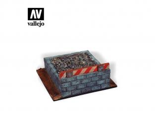Vallejo Bases de diorama SC120 Arret de voie 1/35
