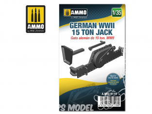 Ammo Mig accessoire 8118 Cric Jack 15 Tonnes Allemand WWII 1/35