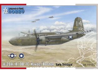 Special Hobby maquette avion 72423 A-20B/C Havoc 'Gunships' 1/72
