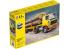Heller maquette camion 57704 Volvo F12-20 cabine courte avec remorque à bois ensemble complet 1/32