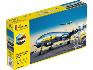 """HELLER maquette avion 56382 STARTER KIT C-121A constellation """"MATS"""" 1/72"""
