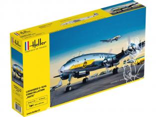 """HELLER maquette avion 80382 C-121A constellation """"MATS"""" 1/72"""