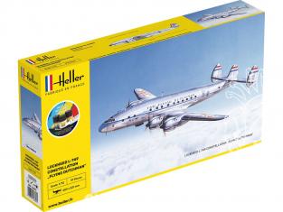 HELLER maquette avion 56393 STARTER KIT 749 CONSTELLATION 'Flying Dutchman' 1/72
