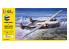 "HELLER maquette avion 55394 STARTER KIT Nord 2501 + Nord 2502 ""NORATLAS"" TWINSET 1/72"