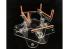 Vertigo VMP026 Airbrush III, avec base rotative, bati de peinture pour blindés