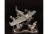 Vertigo VMP025 Airbrush II, avec base rotative, bati de peinture pour Avions
