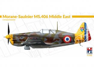 Hobby 2000 maquette avion 72032 Morane-Saulnier MS.406 Moyen-Orient 1/72