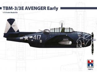 Hobby 2000 maquette avion 72035 TBM-3/3E Avenger Early 1/72