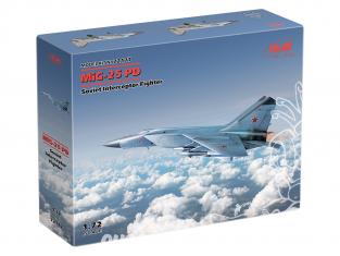 Icm maquette avion 72177 MiG-25 PD Chasseur intercepteur soviétique 1/72