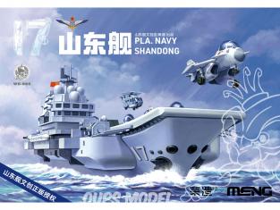 Meng maquette avion WB-008 Embarquez pour l'océan Caricature Porte-avions PLAN Shandong