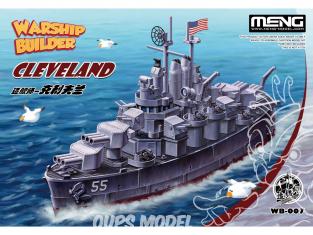 Meng maquette avion WB-007 Caricature croiseur léger Cleveland