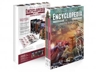MIG magazine 6239 Collection complète des 4 Volumes de l'Encyclopédie des figurines avec boite en Français