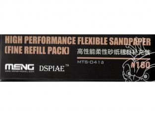 MENG MTS-041a Papier abrasif flexible haute performance grain 180