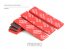 MENG MTS-042a Papier abrasif flexible haute performance grain 1000