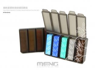 MENG MTS-042 Lot Papier abrasif flexible haute performance ensemble extra fin
