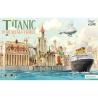 Suyata maquette cartoon SL002 Titanic avec port et véhicule