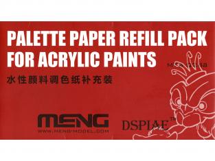 MENG MTS-024a Pack de recharge de papier pour Palette humide