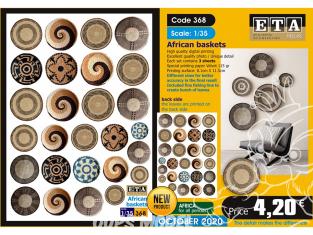 ETA diorama 368 paniers africains 1/35