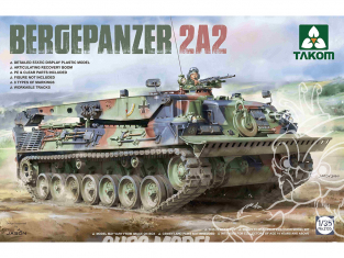 Takom maquette militaire 2135 Bergepanzer 2A2 1/35