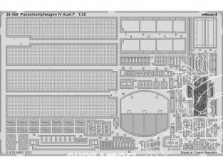 Eduard photodecoupe militaire 36459 Amélioration Panzerkampfwagen IV Ausf.F Tamiya 1/35