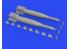 Eduard kit d'amelioration brassin 632169 GBU-10 Paveway II 1/32