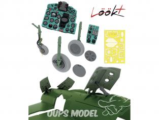 Eduard kit d'amelioration avion Löök+ 644088 MiG-21MF Eduard 1/48