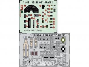 Eduard Space décalques 3D 3DL48011 P-38H Tamiya 1/48