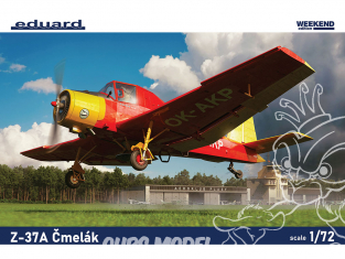 EDUARD maquette avion 7456 Z-37A Cmelak WeekEnd Edition 1/72