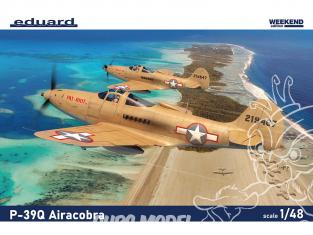 EDUARD maquette avion 8470 P-39Q Airacobra WeekEnd Edition 1/48