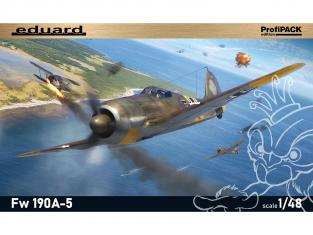 EDUARD maquette avion 82149 Focke Wulf Fw 190A-5 ProfiPack Edition 1/48