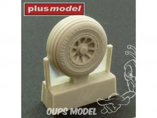 Plus Model AL7039 C-119 Boxcar roues version précoce 1/72