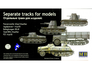 mb maquette 3505 chenilles Maultier 1/35