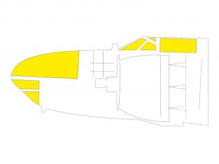 Eduard Express Mask JX271 A-26C Invader Hobby Boss 1/32