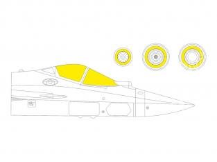 Eduard Express Mask EX758 Sukhoi Su-57 TFace Zvezda 1/48
