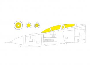 Eduard Express Mask CX595 F-4EJ Fine Molds 1/72