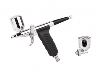 Aérographe Pistolet Pistolet aérographe Fengda FE-116K avec buse 0,2 mm et 0,3 mm et 0,5 mm