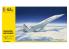 HELLER maquette avion 80445 Concorde Air France 1/125