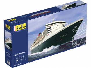 HELLER maquette militaire 80626 Queen Mary 2 1/600
