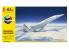 HELLER maquette avion 56445 STARTER KIT Concorde Air France inclus peintures principale colle et pinceau 1/125