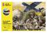 Heller maquette avion 35313 STARTER KIT A.S. 51 Horsa avec parachutistes Inclus peintures principale colle et pinceau 1/72