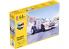 HELLER maquette voiture 56716 Peugeot 205 EV.2 Inclus peintures principale colle et pinceau 1/24