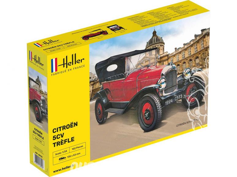 Heller maquette voiture 80702 CITROËN TREFLE 1/24