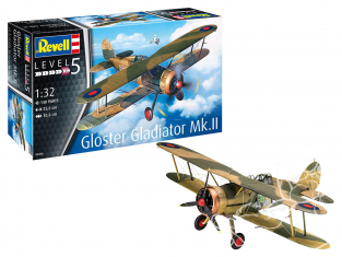 Revell maquette avion 03846 Gloster Gladiator Mk. II 1/32