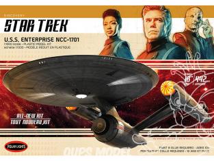 Polar Lights maquette 973 Star Trek Discovery U.S.S. Enterprise 1:1000