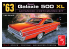 AMT maquette camion 1186 Ford Galaxie 500XL 1963 1/25