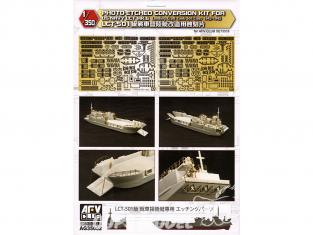 AFV maquette bateau AG35052 Photodecoupe pour la transformation du navire de débarquement LCT-501 MK.6 1/350