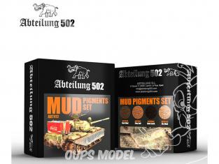 Abteilung 502 set de pigments abt412 Set Boue
