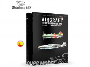 ABTEILUNG502 livre 714 Aviones de la guerra civil espanola en Espagnol