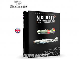 ABTEILUNG502 livre 713 Aircrafts of the Spanish civil war en Anglais